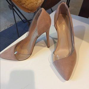 Shoe Dazzle Pink Heels